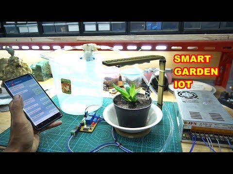 Project IoT Smart Garden – PCBWAY.COM