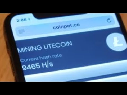 How to Mine Litecoin on any iPhone Quick and Easy method! 2019