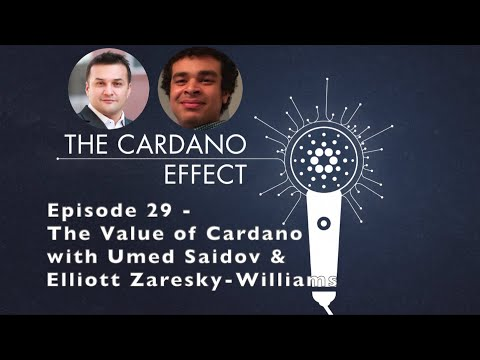 The Value of Cardano with Umed Saidov and Elliott Zaresky-Williams – Episode 29