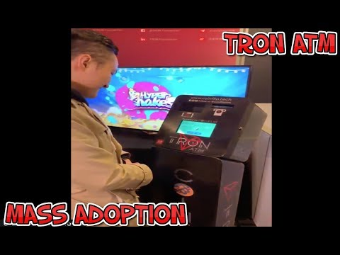 Justin Sun Reveals The First TRON (TRX) ATM For Mass Adoption