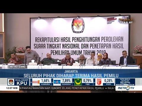 KPU Tetapkan Hasil Pemilu Pada 25 Mei Jika Tidak Ada Gugatan ke MK