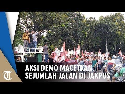 Ada Aksi Demo Sore Hari Ini, Akibatnya Jalan Medan Merdeka Barat Terpantau Macet Parah