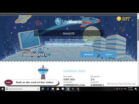 New !! Free Litecoin Miner 2018 – Auto Mining – Up TO 0.03 LTC || Free Bitcoin 2018