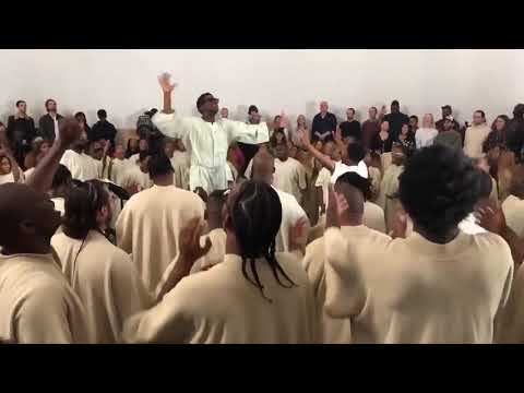 We Lift Our Voices To God || Kanye West & Sia (Sunday Service)