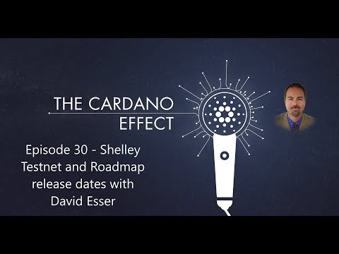 Shelley testnet and Cardano roadmap release dates with David Esser – Episode 30