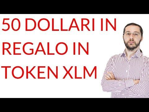50 $ in regalo su Blockchain.com (in token Stellar XLM): è tutto vero