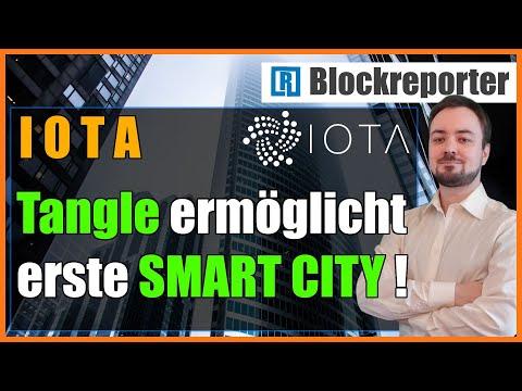 IOTA und Tangle ermöglichen die erste Smart City in Texas   Blockreporter deutsch kryptowährung