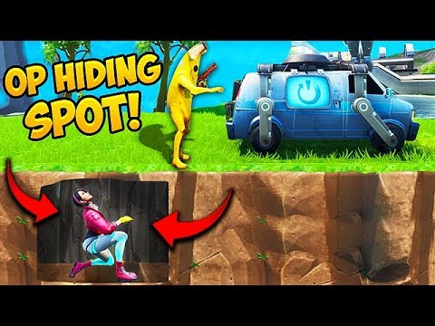 *NEW* SUPER OP HIDING SPOT!! – Fortnite Funny Fails and WTF Moments! #563