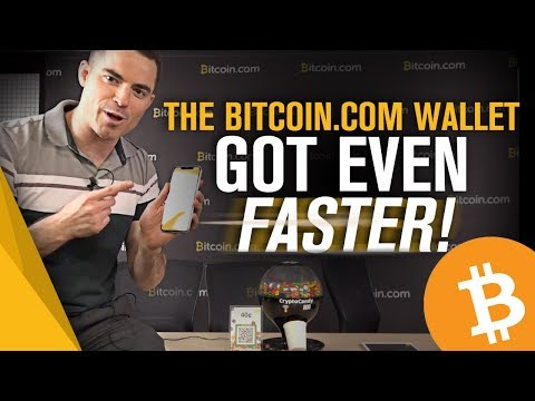 The Bitcoin.com Wallet Is INSANELY Fast!