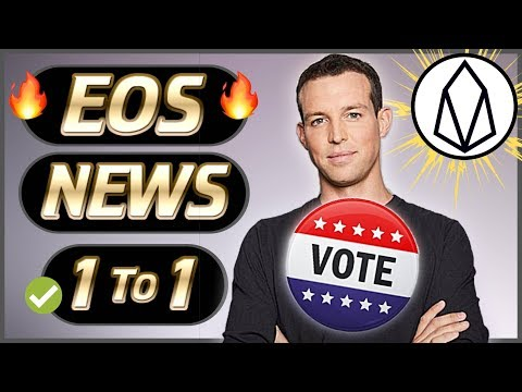 EOS News Weekly #21 – Brundan Blumer Voting! – EOS New Projects  – CTO Lucien Chen Leaves Tron (TRX)
