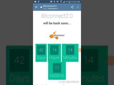 Bitconnect 2.0 comeback?