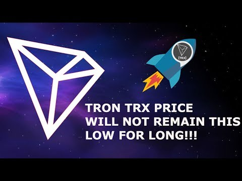 TRON TRX PRICE WILL NOT REMAIN THIS LOW FOR LONG! CRAIG WRIGHT IS SATOSHI?!?!