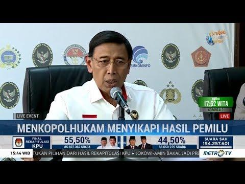 Wiranto: Ada Rencana Menduduki KPU, Bawaslu, Hingga Istana!