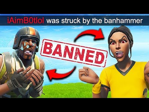 *2 HACKERS* GET BANNED LIVE!! – Fortnite Funny Fails and WTF Moments! #564