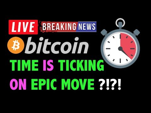 Bitcoin TIME IS TICKING ON EPIC MOVE?! -LIVE Crypto Trading Analysis & BTC Cryptocurrency Price News