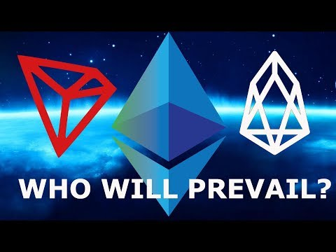 WHO WILL PREVAIL? TRON TRX ETHEREUM EOS TOP SMART CONTRACT PROJECTS!