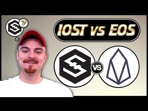 IOST vs EOS – Non-Bias Comparison Between EOS & IOST Coin – IOST Staking – IOST News