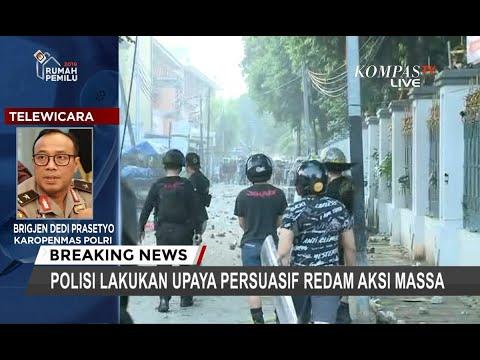 Polisi: Provokator Massa dari Luar Jakarta, Ada Pihak Ketiga
