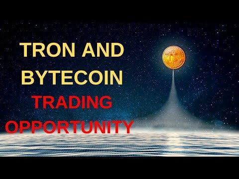 Cryptocurrency Alt Coin Trading Opportunity! Tron (TRX) + Bytecoin (BCN)