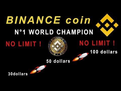 BINANCE COIN – EXPLOSE TOUT – (  Plus aucune RESISTANCE . )