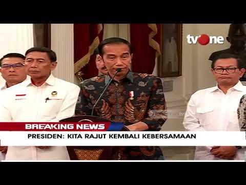 [BREAKING NEWS] Joko Widodo: Untuk Perusuh Tidak Ada Pilihan, TNI-Polri Akan Tindak Tegas