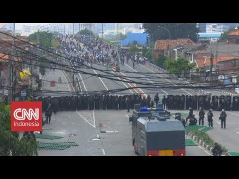 BREAKING NEWS! Demo Hari ini,  Kondisi Terkini di Petamburan, Tanah Abang & Bawaslu