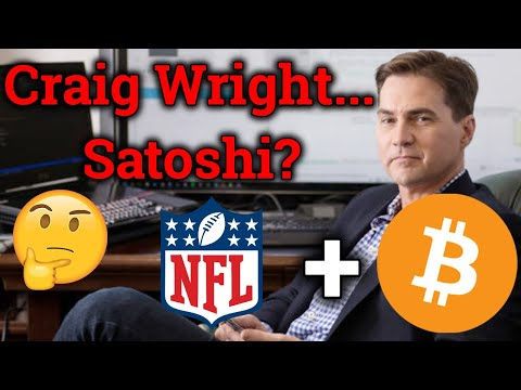 Craig Wright.. Satoshi? Bitcoin Copyright Registration! NFL + BTC?! Cryptocurrency News + Trading