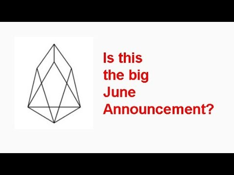 EOS being used for Charity and remittances in Venezuela, is this the big June announcement?