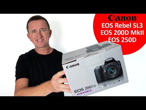 Canon EOS Rebel SL3 / 200D MkII Review and tested.
