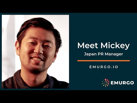 Meet Mickey | Public Relations for Cardano  – EMURGO's Japan PR Manager