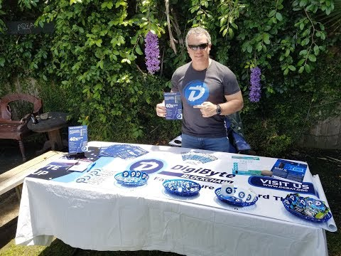 DigiByte Table at LA Tech & Start Up BBQ-Analysis and Observations