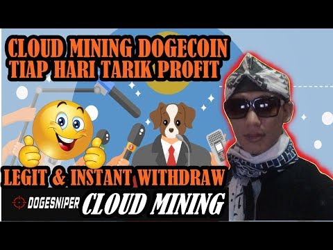 MANTUL! live withdraw 330 doge menambang dogecoin 100% legit – dogesniper mining