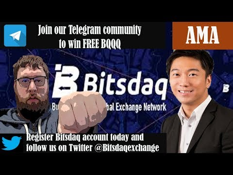 Bitsdaq Cryptocurrency Exchange CEO Ricky NG Exclusive Interview (2019)