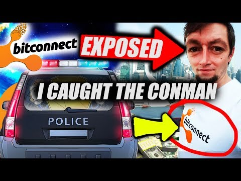 Bitconnect 2.0 Launch CANCELLED! I Found the Conman! Face Reveal…