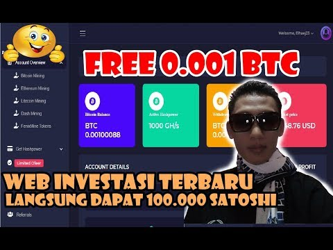Program cloud mining terbaru FREE 0.001 BTC