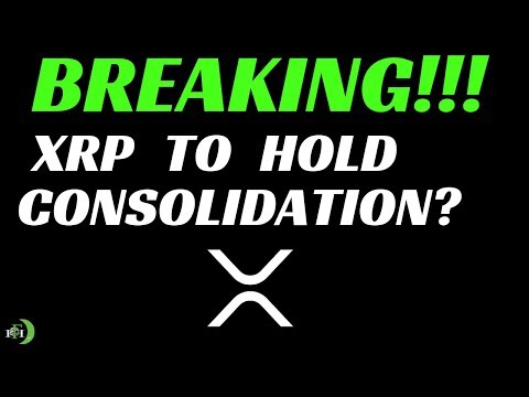 XRP (RIPPLE) | XRP TO HOLD CONSOLIDATION?