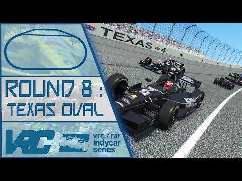 #8 – Texas Motor Speedway – Indycar – RF2