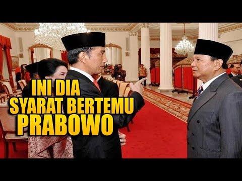 Prabowo Siap Ditemui Jokowi, Tapi Ada Syaratnya Ujar Dahnil Anzar