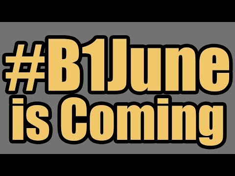 #B1June is Coming and We Couldn't be More Excited!