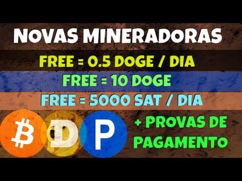 Novas Mineradoras Doge Doger e Dogex | + Provas de Pagamento Bitcoin e Dogecoin