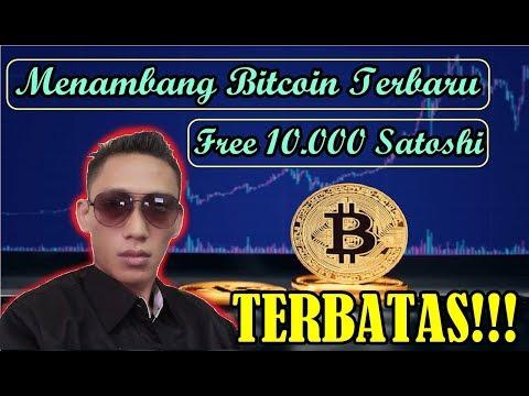 Launching!! Bitcoin mining Free 10.000 Satoshi dan TERBATAS!!