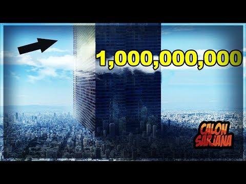 BAGAIMANA JADINYA KALO BENERAN ADA ORANG YANG BISA MEMBUAT BANGUNAN 1.000.000.000 LANTAI!!!
