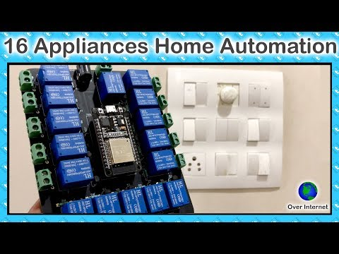 My biggest Home Automation project using ESP32 | IoT Projects | ESP32 Projects