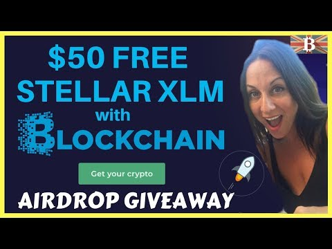 Guide to $50 Free Stellar Lumens XLM with Blockchain.com