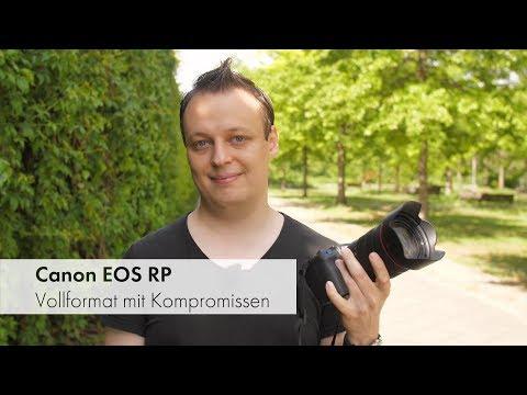 Canon EOS RP | solide Vollformat-DSLM mit Systemschwächen [Deutsch]