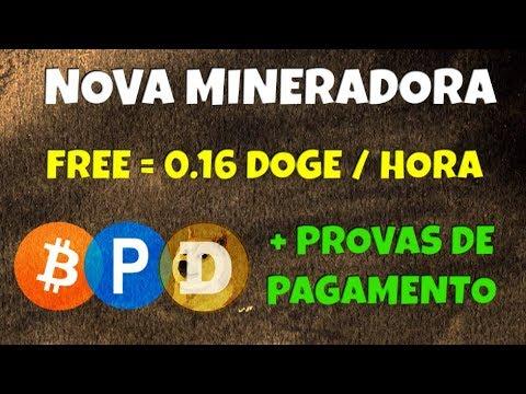 Nova Mineradora Doge FREE Dogecoin a Cada Hora Dogetrade | + Provas de Pagamento