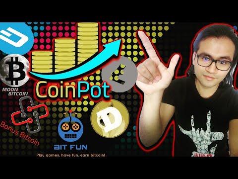 Coinpot y sus faucets (Gana criptomonedas: Bitcoin, Litecoin, Dogecoin, Dash y más!)