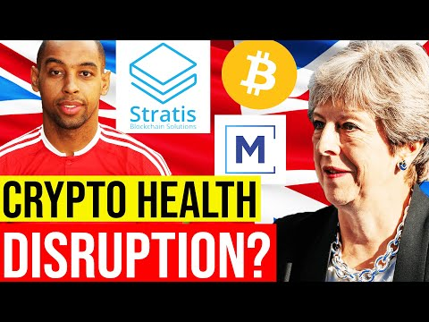 🚨UK MASS ADOPTING CRYPTO? ❤️ HEALTHCARE THROUGH MEDICONNECT AND STRATIS