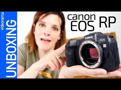 Canon EOS RP unboxing -¿OFERTON o PINCHAZO?-