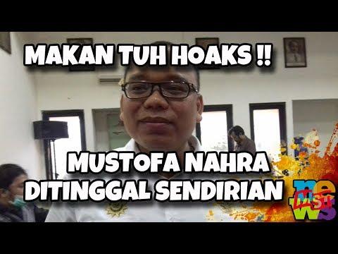 Mustofa Ditinggal Sendirian, Tidak Ada Tokoh Nasional Jamin P3n4n66uh4n P3n4h4n4n! Makan Tuh Hoaks!